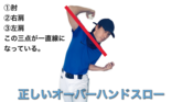 本当に正しいオーバースローの投げ方で、簡単に空振りを取る方法